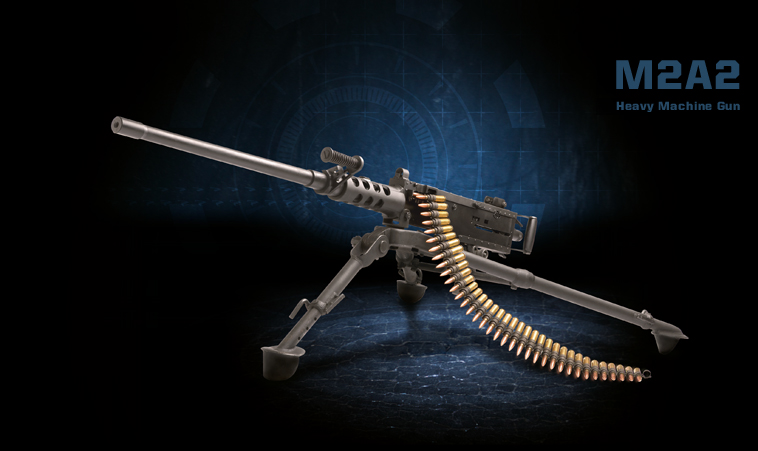 M2A2 Heavy Machine Gun Product Photo