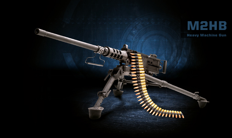M2HB Heavy Machine Gun Product Photo