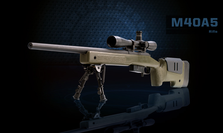 M40A5 Rifle Product Photo