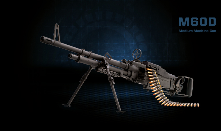 M60D Medium Machine Gun Product Photo