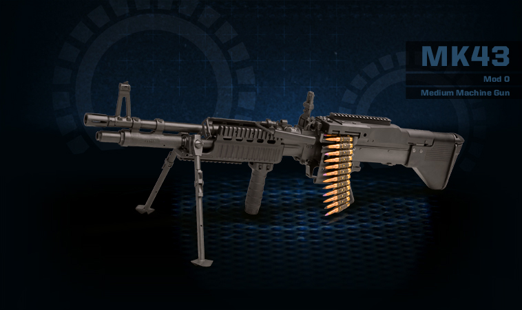 MK43-MOD0 Medium Machine Gun Product Photo